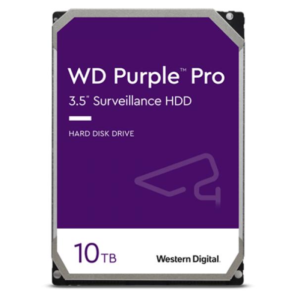 Hard disk 10TB - Western Digital PURPLE PRO WD101PURP