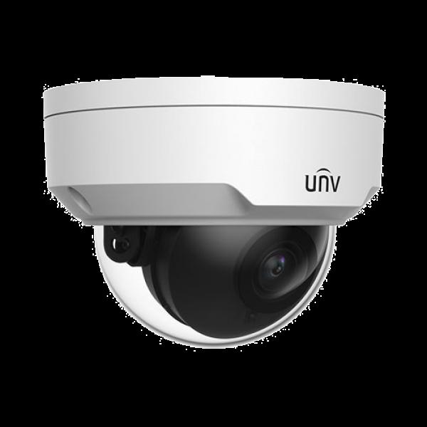 Camera de supraveghere IP Dome, 4MP, IR 30m, 2.8mm, Uniview IPC324LE-DSF28K-G