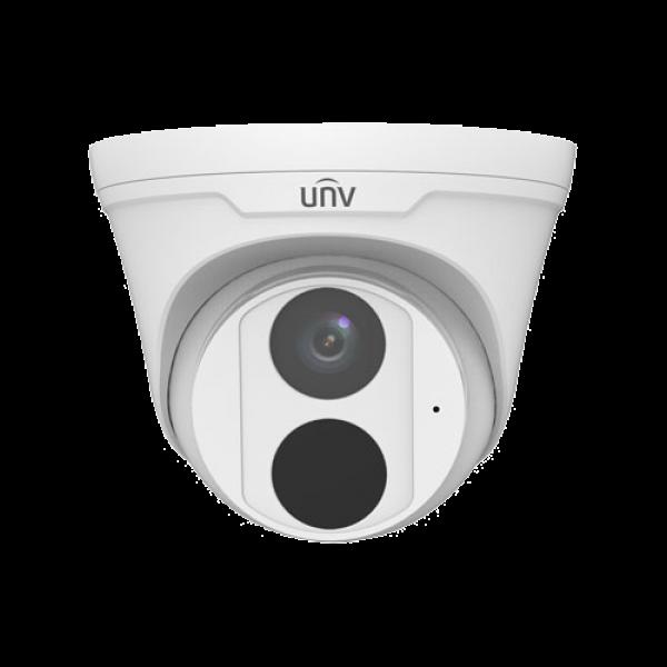 Camera de supraveghere IP Turret, 3MP, IR 30m, 2.8mm, Microfon integrat, Uniview IPC3613LB-AF28K-G