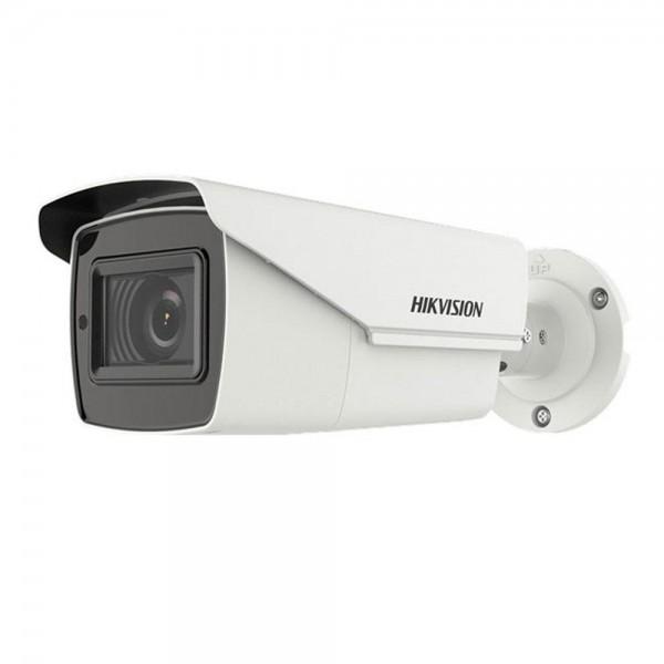 Camera de supraveghere AHD Bullet, 5MP, IR 80m, 2.7-13.5mm, Hikvision DS-2CE19H8T-AIT3ZF