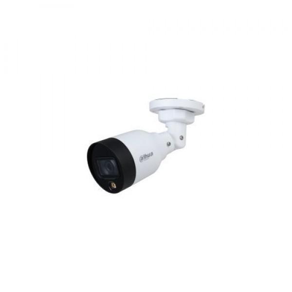 Camera de supraveghere IP Bullet, 2MP, IR 10m, 2.8mm, PoE, Dahua IPC-HFW1239S1-LED-0280B-S5