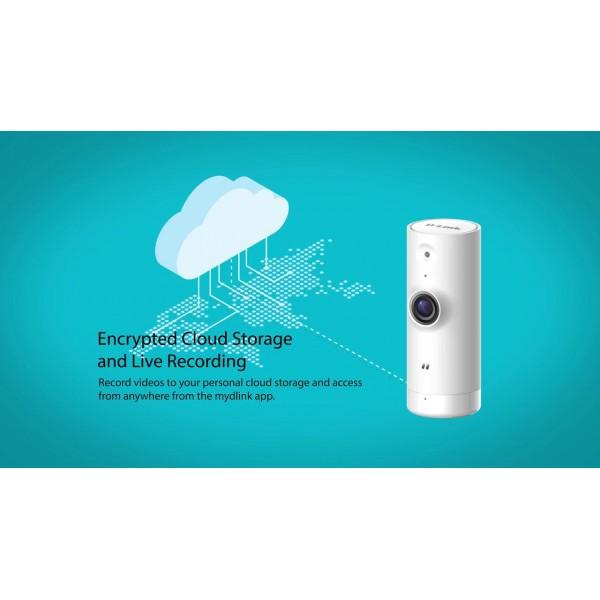 Camera de supraveghere IP Cube, 2MP, IR 5m, 3.28mm, Wi-Fi, D-link DCS-8000LHV2