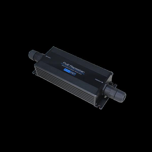 Repetor Gigabit Ethernet POE 60W - 802.3BT - 1 IN, 1 OUT rezistent la apa si praf - IP67