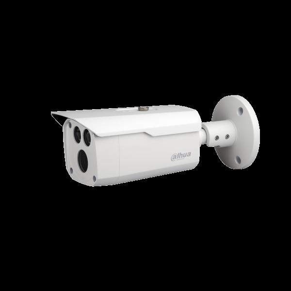 Camera de supraveghere HDCVI Bullet, 2MP, IR 80m, 3.6mm, Dahua HAC-HFW1200D-0360B