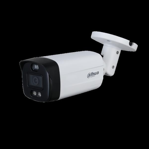 Camera de supraveghere HDCVI Bullet, 5MP, 3.6mm, Lumina alba 40m, Dahua HAC-ME1509TH-PV-0360B