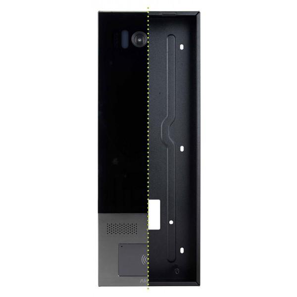 Doza din metal pentru montarea incastrata a videointerfoanelor  IP X915