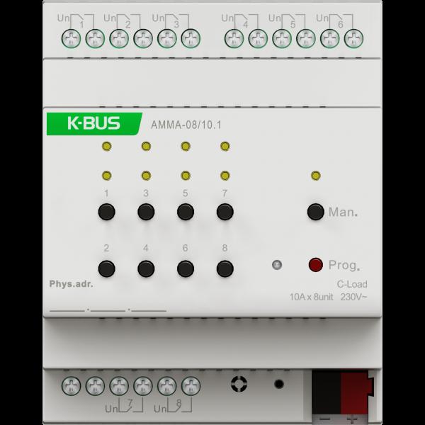 Actuator multifunctional 8 canale - actuator/jaluzele/ventilatie - 10A