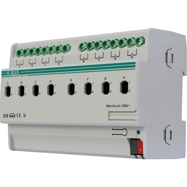 Actuator switch KNX - 8 canale, 16A, ver.2