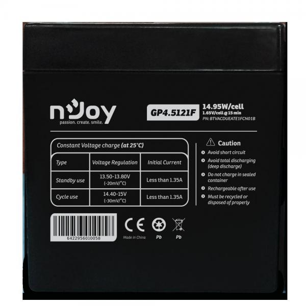 ACUMULATOR NJOY GP4.5121F 12V