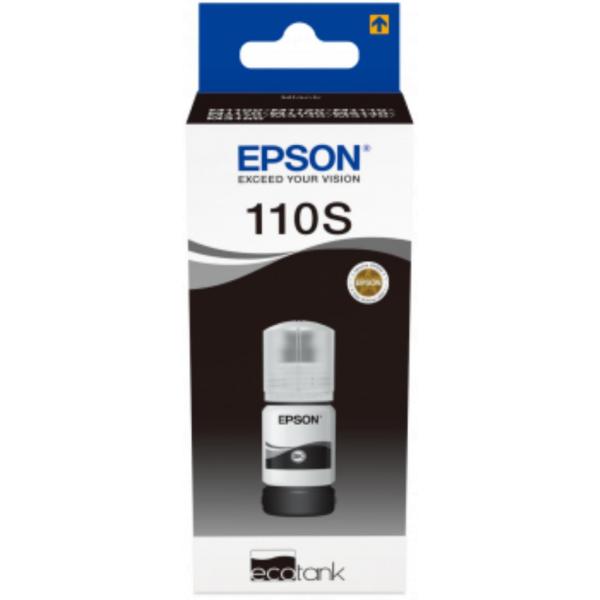 EPSON 110S PIGMENT BLACK INK BOTTLE