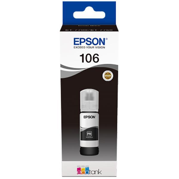 EPSON 106 ECOTANK BLACK INK BOTTLE