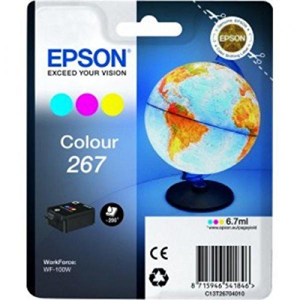 EPSON 267 COLOR INKJET CARTRIDGE