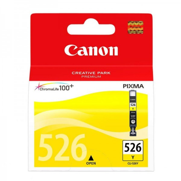 CANON CLI-526Y YELLOW INKJET CARTRIDGE