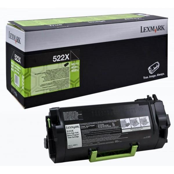 LEXMARK 52D2X0E BLACK TONER