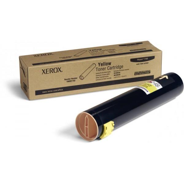 XEROX 106R01162 YELLOW TONER CARTRIDGE