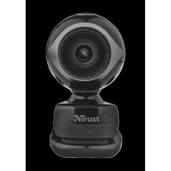 Trust Exis Webcam - black/silver