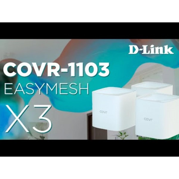 D-LINK AC1200 WHOLE HOME WI-FI 3 PACK