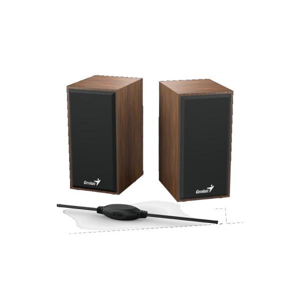 BOXE GENIUS SP-HF180 2.0 6W USB WOOD