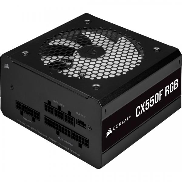 CR PSU CX550F RGB Black 550W 80+ Bronze