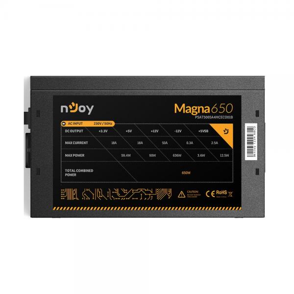 SURSA ATX 650W NJOY MAGNA 80+ BRONZE