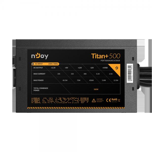 SURSA NJOY TITAN+ 500 ATX 500W