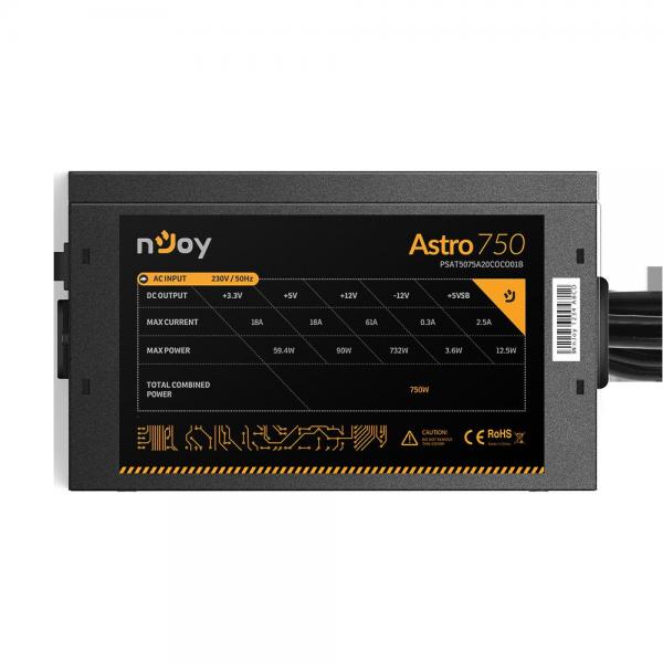 SURSA NJOY ASTRO 750 ATX 750W