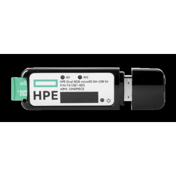 HPE DUAL 8GB MICROSD EM USB MOD