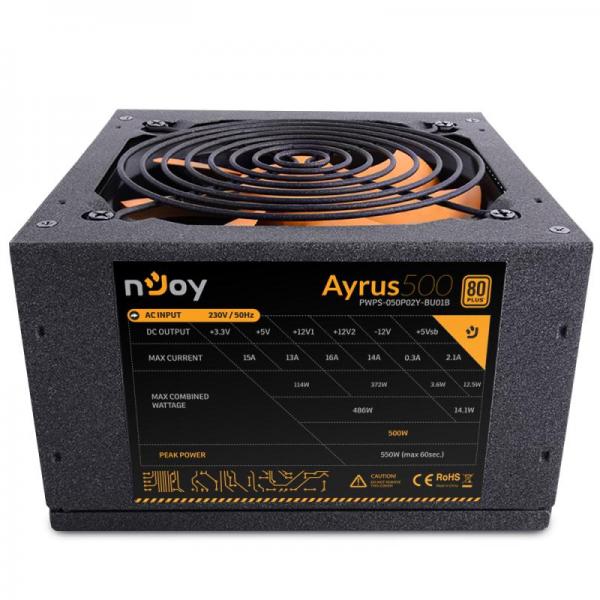 SURSA ATX 500W NJOY AYRUS 500