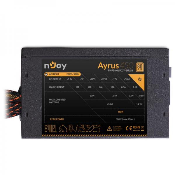SURSA ATX 450W NJOY AYRUS 450