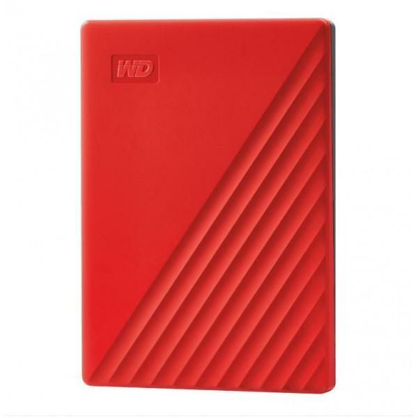"EHDD 2TB WD 2.5"" USB 3.2 MY PASSPORT RED"