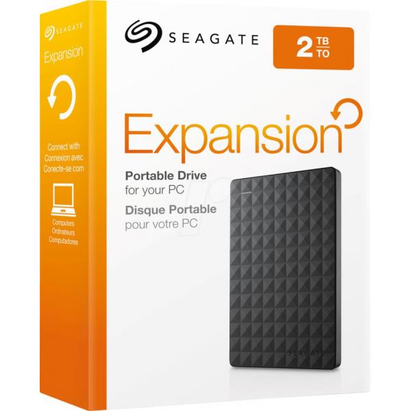 "EHDD 2TB SG 2.5"" EXPANSION USB 3.0 BK"