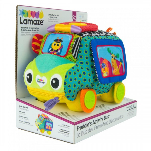 Lamaze- Freddie, autobuzul cu activitati