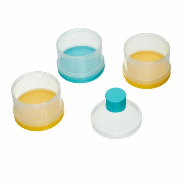Container lapte praf cu 3 comp U656-FC