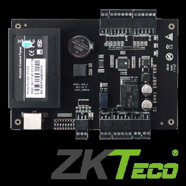 Centrala de control acces pentru o usa (bidirectionala) -ZKTeco C3-100