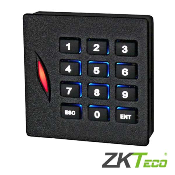 Cititor de proximitate RFID EM125Khz cu tastatura integrata -ZKTeco KR102E
