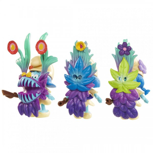 Blister Strumfi- 3 figurine cu masca si