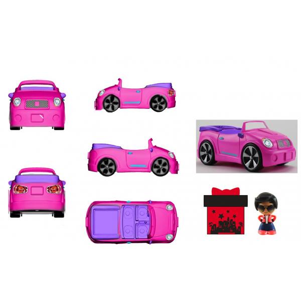 Gifts- Set de jucarii, masinuta, asortat