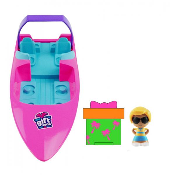 Gifts- Set de jucarii, barca de viteza