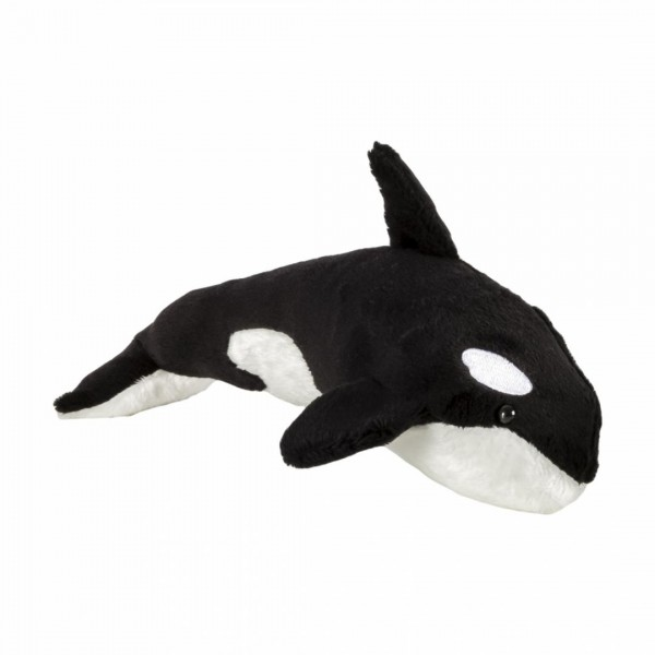 Pluș balenă ucigașă, 24 cm
