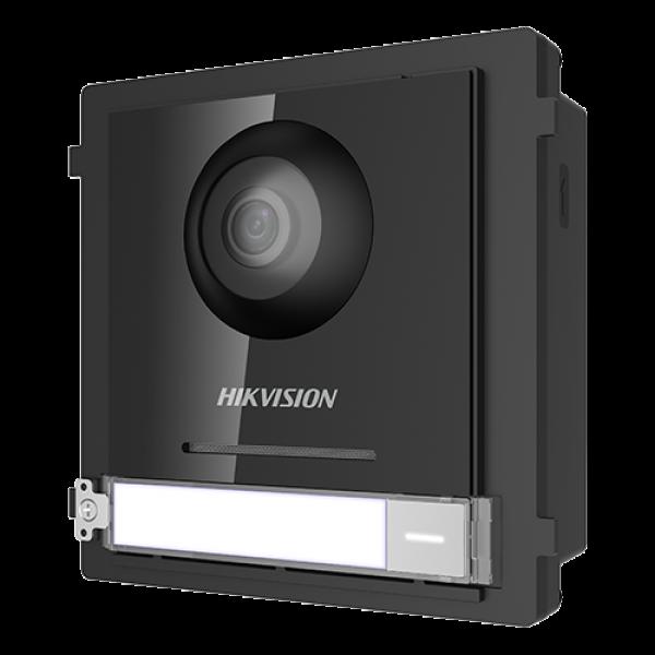 Modul Master pentru Interfonie modulara echipat cu camera video 2MP fisheye si un buton apel  - HIKVISION DS-KD8003-IME1 - gss.ro