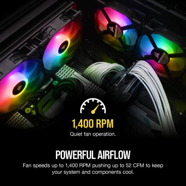 CR Cooler Case iCUE SP120 PRO RGB