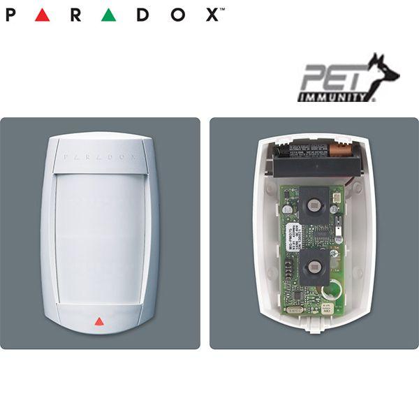 Detector radio de Mişcare Digital Dual-Optic cu imunitate la animale < 40 kg ( 35m) PMD75