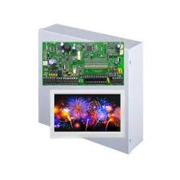 Cutie metalica cu traf SP7000 + Touch Screen TM50
