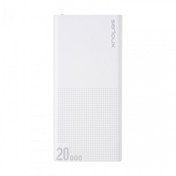 POWER BANK QC SERIOUX 20000 WHITE