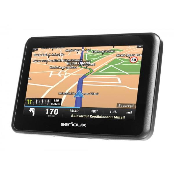 "GPS 4.3"" SERIOUX  URBANPILOT UPQ430"