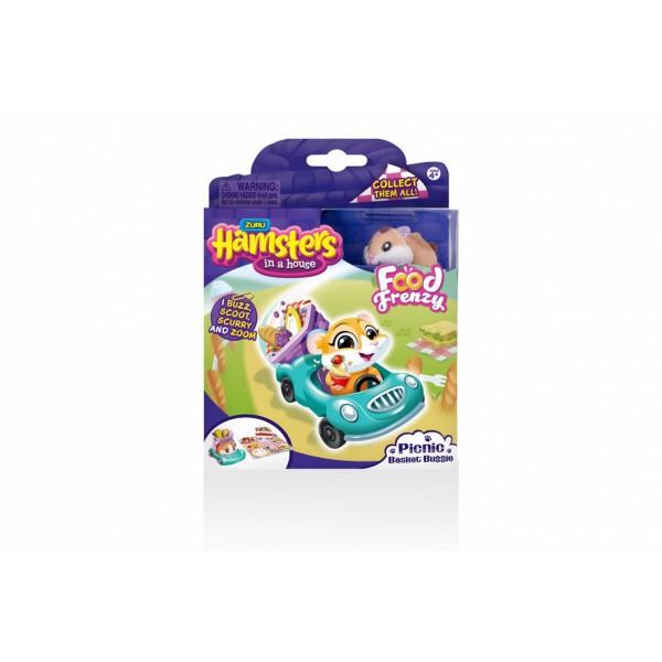 Hamster cu 3 accesorii