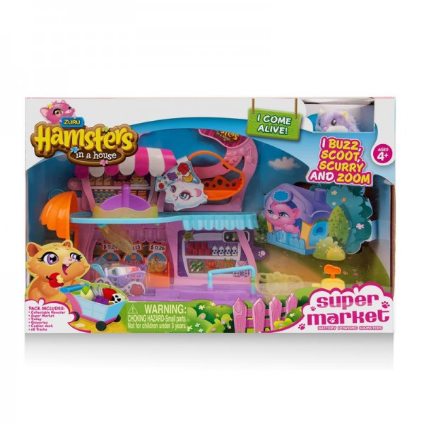 Set supermarket hamster si accesorii