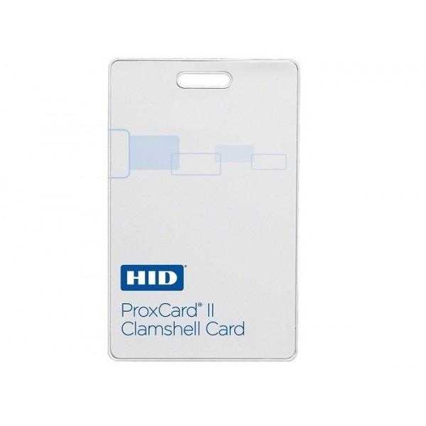CARD 125KHZ PROXCARD II - CLAMSHELL