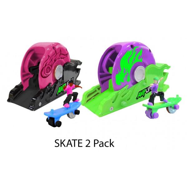 Amplifiers, skateboard si lansator