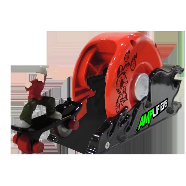 Amplifiers, skateboard si lansator- Bern